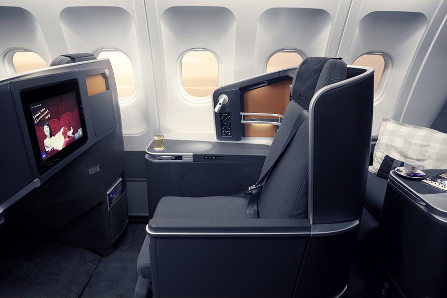 SAS Business Class byder på høj komfort og masser af plads