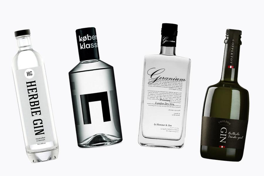 Her er de bedste danske gin